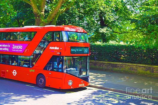 Notting Hill Gate by Dan Hilsenrath
