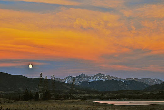 November Moonrise by Bob Berwyn