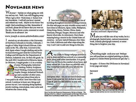 November News by Joseph Mora
