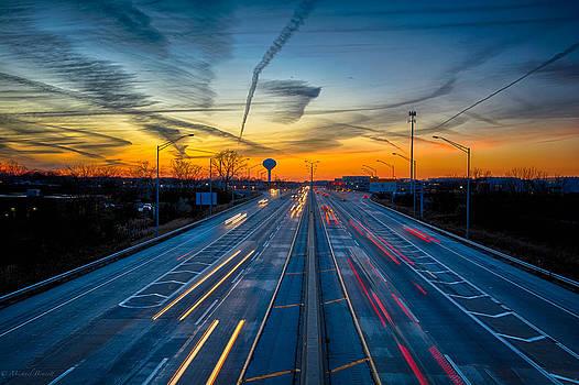 November Sunset 2013 by Michael  Bennett