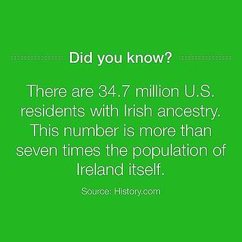 Now You Know!  Happy St  Pat's Day by Sean Boyd