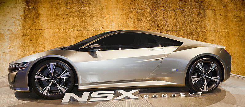 NSX Concept by Darren  Cornea