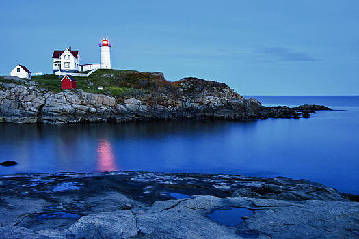 Nubble Light by Heather Reeder