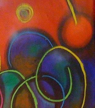 Nubian colors 1 by Kamal Hashim Osman