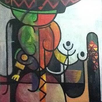Nubian queen by Kamal Hashim Osman