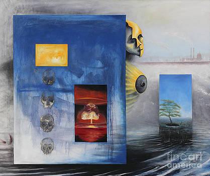 Nuclear Man by Ricardo Santos Hernandez