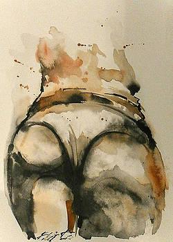 Nude 4 by Nikola Ojdanic
