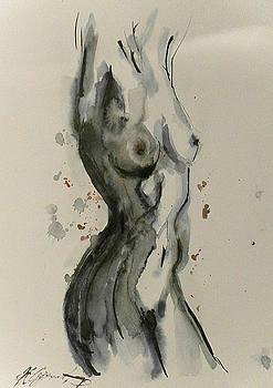 Nude 5 by Nikola Ojdanic