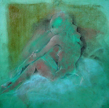 Nude Bleue by Josie Taglienti