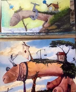 Nude Erotic paintings  by Carlos Rodriguez Yorde