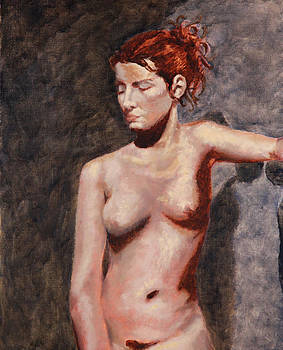 Nude French Woman by Shelley Irish