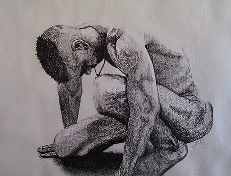 Nude II. by Paula Steffensen