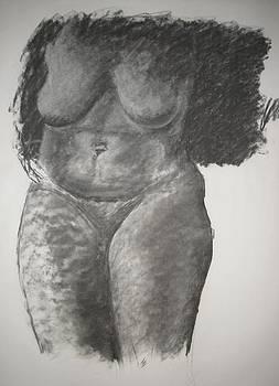Nude Life Study by Michelle Deyna-Hayward