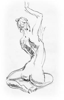 Irina Sztukowski - Nude Model Gesture V