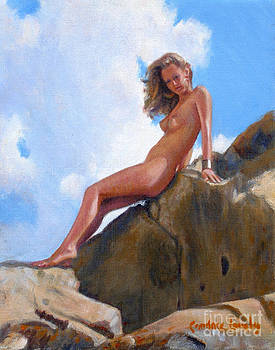 Candace Lovely - Nude on the Rocks