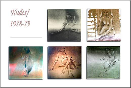 Glenn Bautista - Nude Sketches 1978 to 79