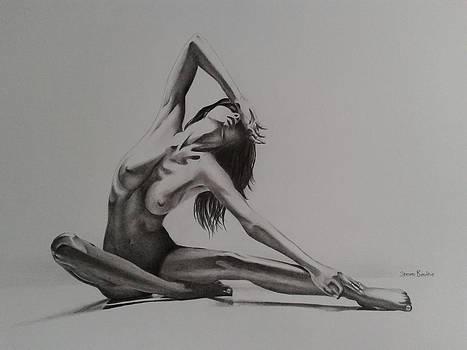 Nude Study 1 by Steven Beattie