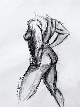 Nude Study by Garfield Morgan