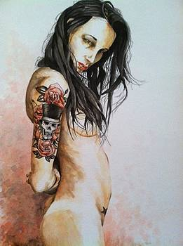 Nude With Tattoo by Chad Ward