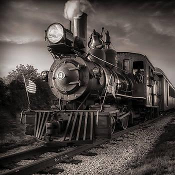 Number 4 Narrow Gauge Railroad by Bob Orsillo