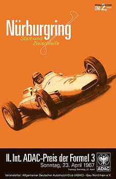 Georgia Fowler - Nurburgring F3 Grand Prix 1967