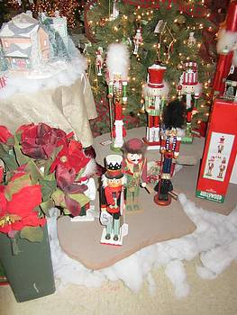 Nutcracker Soldiers March for Peace by Debbie Nester