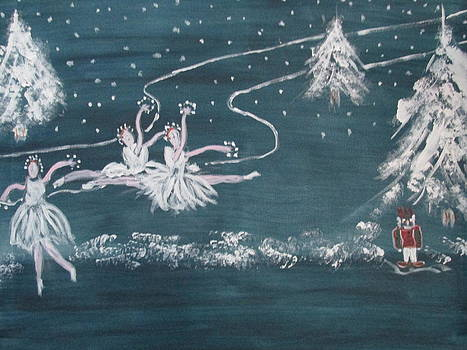 Nutcrackers Dance Of The Snowflakes by Sharyn Winters