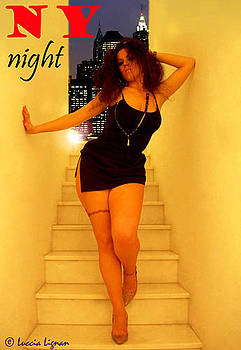 NY Night by Luccia Lignan
