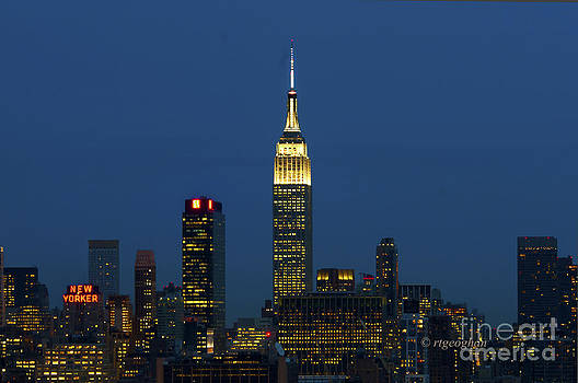 Regina Geoghan - NY Skyline Nightlights