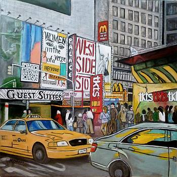 Ny The Big Apple by Maggie  Cabral