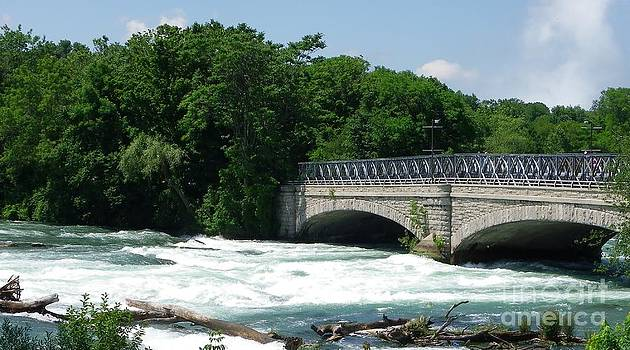 NY White Rapids by Charleen Treasures