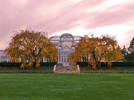 NYBG Conservatory Autumn by David Klaboe