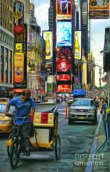 NYC Bike Taxi by Jeff Breiman