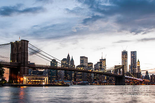 NYC Brooklyn Bridge by Hannes Cmarits
