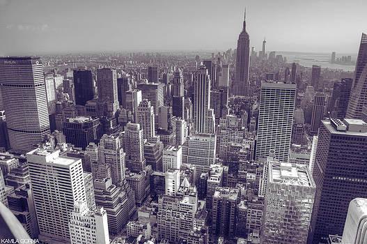 NYC Empire by Kamila  Gornia