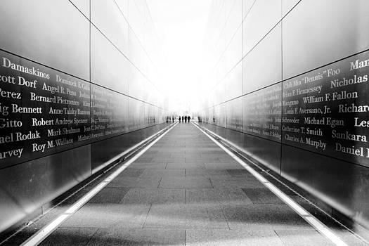 NYC Empty Sky by Nina Papiorek