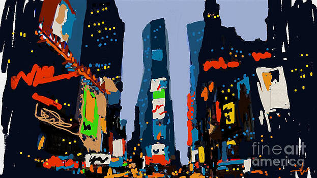 Times Square by Jennifer Wu