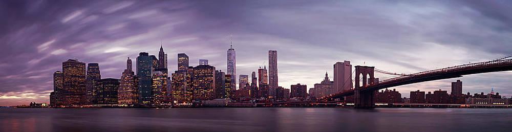 NYC Panorama by Nina Papiorek