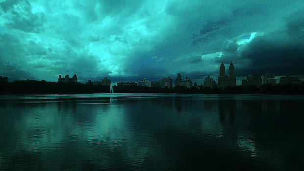 NYC Resevoir by Donna Betancourt