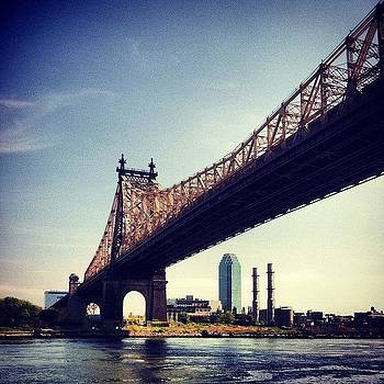 #nyc #rooseveltisland Beautiful Day by Matthew Tarro