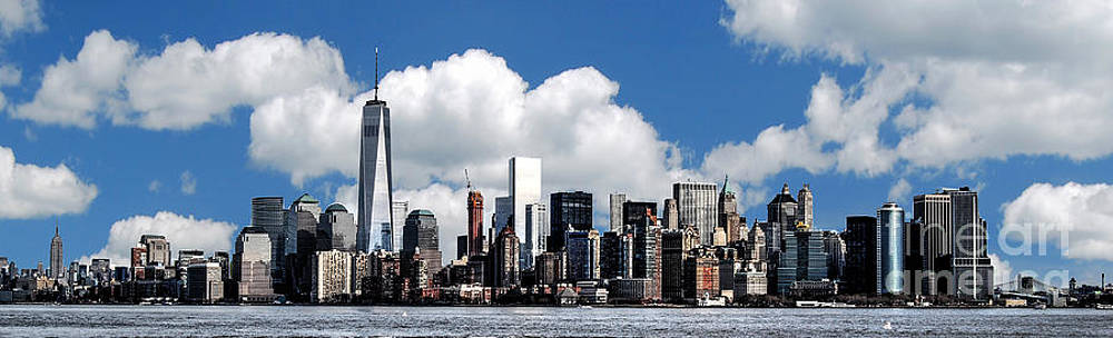 NYC Skyline by Guy Harnett