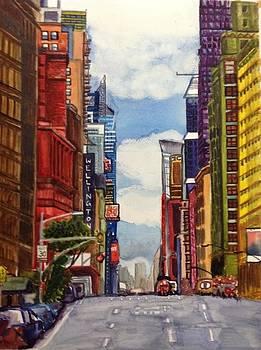 Aditi Bhatt - NYC street