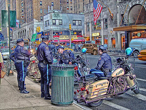 NYPD Highway Patrol by Ron Shoshani