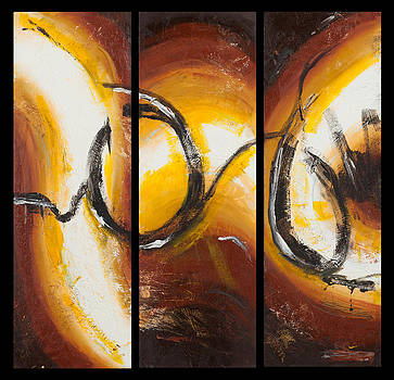 O' abstract by Edee Proctor