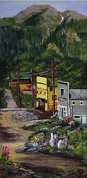 O Little Town of Chitna by Terry  Phillips