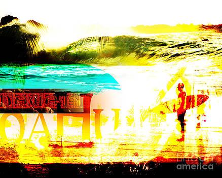 Oahu Montage by Patrick Parker