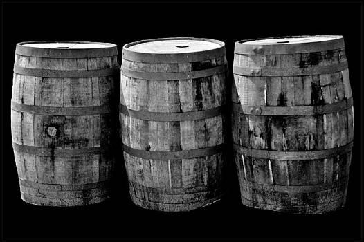 LeeAnn McLaneGoetz McLaneGoetzStudioLLCcom - Oak Barrels BW on BK