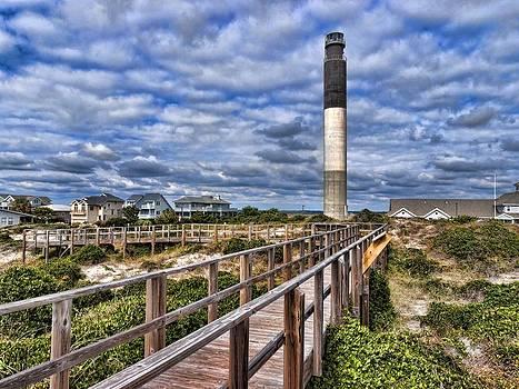 Oak Island Lighthouse by Don Margulis