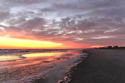 Oak Island Sunset by Don Margulis