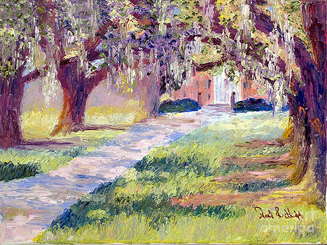 Oak Shadows by Patricia Huff